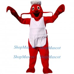 Cartoon Big Lobster Mascot Costume