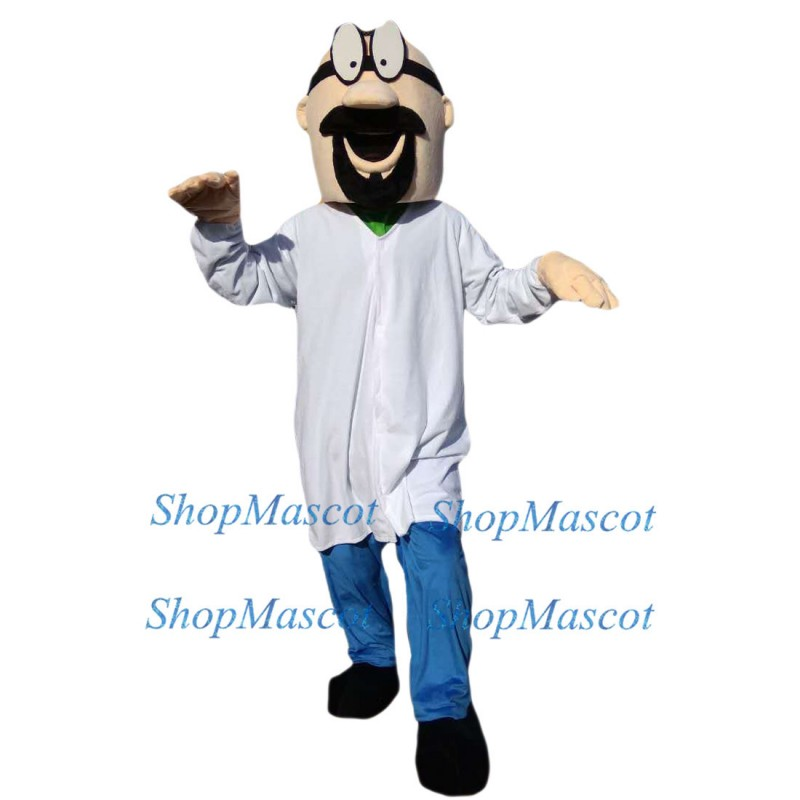 Cartoon Doctor Mascot Costume