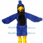 Blue Wild Eagle Mascot Costume