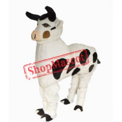 Two People Cow Mascot Costume