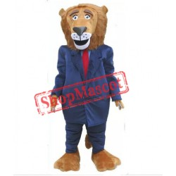 Leader Lion Mascot Costume