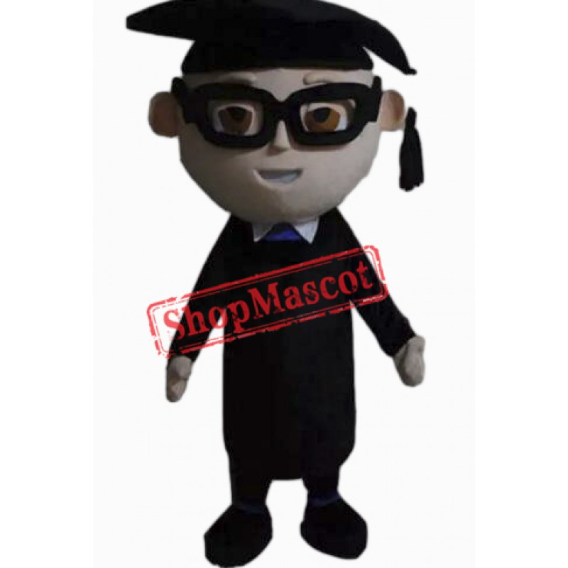 Learned Scholar Mascot Costume
