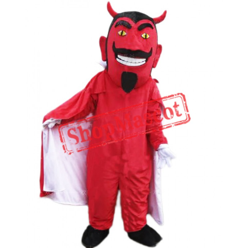 Red  Lightweight Devil Mascot Costume