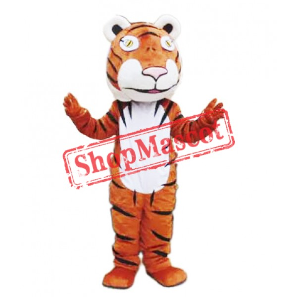 Cute Lightweight Tiger Mascot Costume