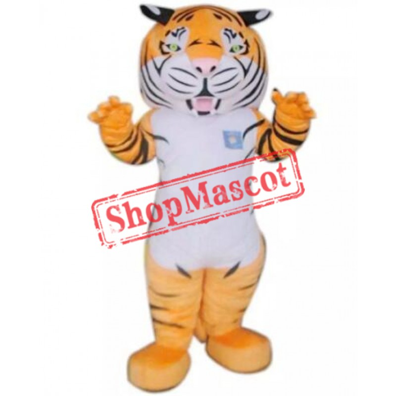 Fierce Adult Tiger Mascot Costume
