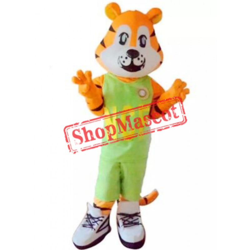 Sport Cartoon Tiger Mascot Costume