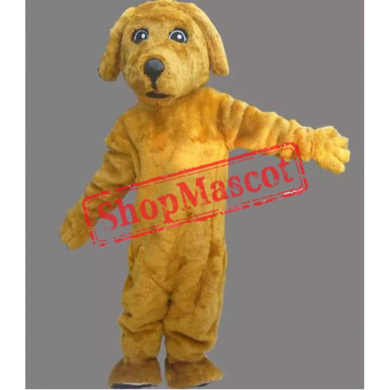 Yellow Lightweight Dog Mascot Costume