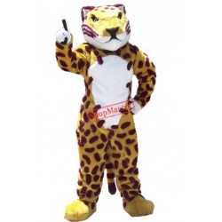 Fierce Jaguar Mascot Costume