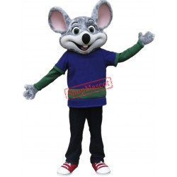 Happy Lightweight Mouse Mascot Costume