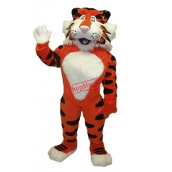 Friendly Lightweight Tiger Mascot Costume