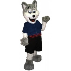 High Quality Police Dog Mascot Costume