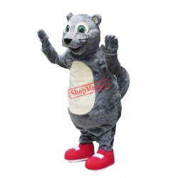 Happy Lightweight Squirrel Mascot Costume
