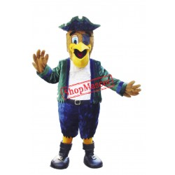 Pirate Pelican Mascot Costume