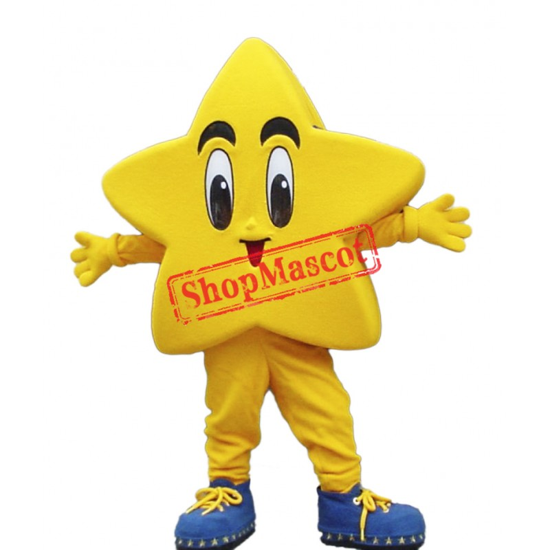Happy Lightweight Star Mascot Costume