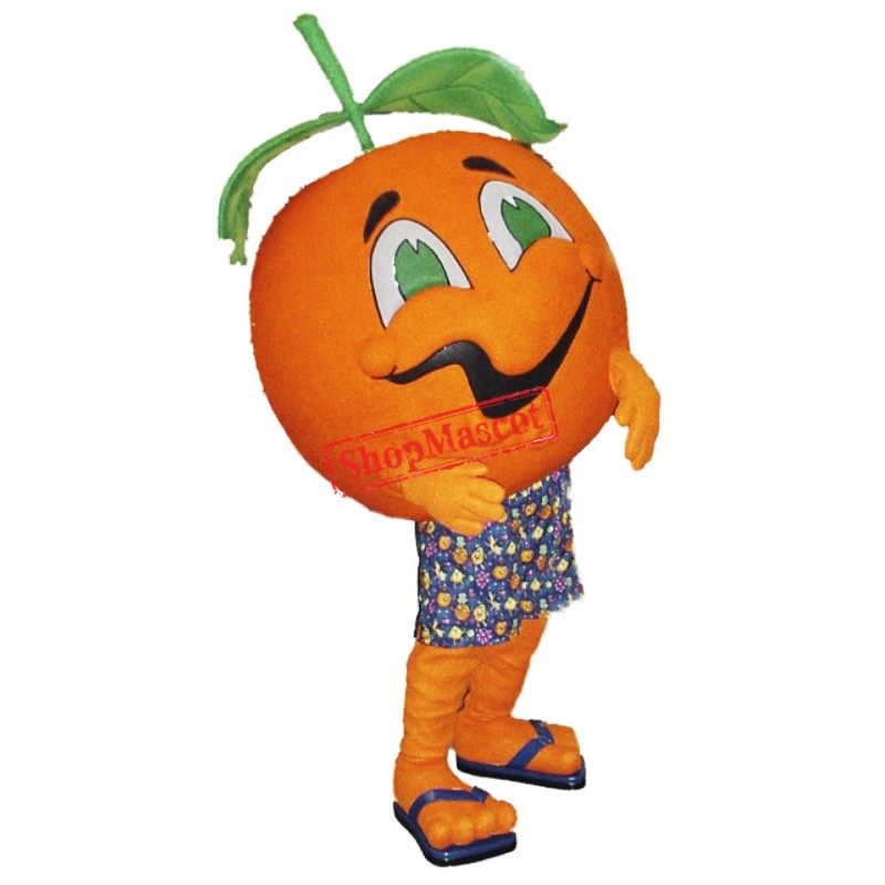 Top Quality Orange Mascot Costume