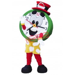 Top Quality Clock Mascot Costume