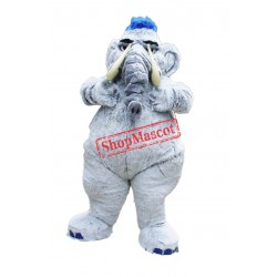 Mammoth Elephant Mascot Costume