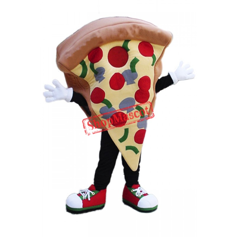 Top Quality Pizza Mascot Costume
