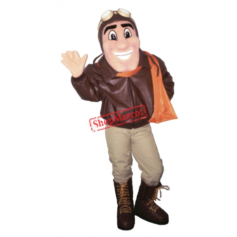 Top Quality Pilot Mascot Costume