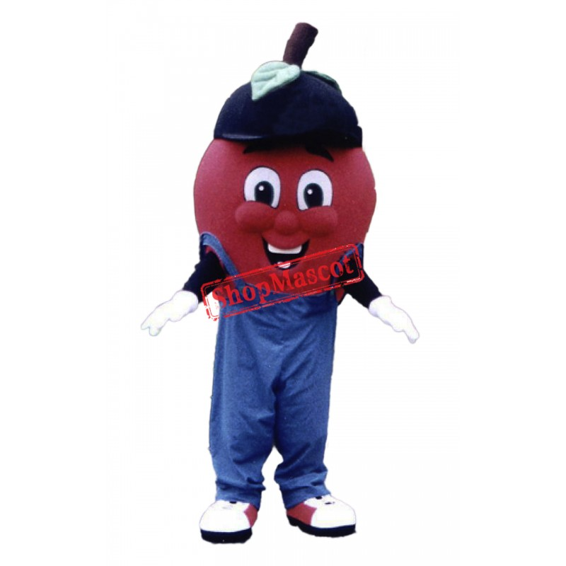 Top Quality Red Apple Mascot Costume