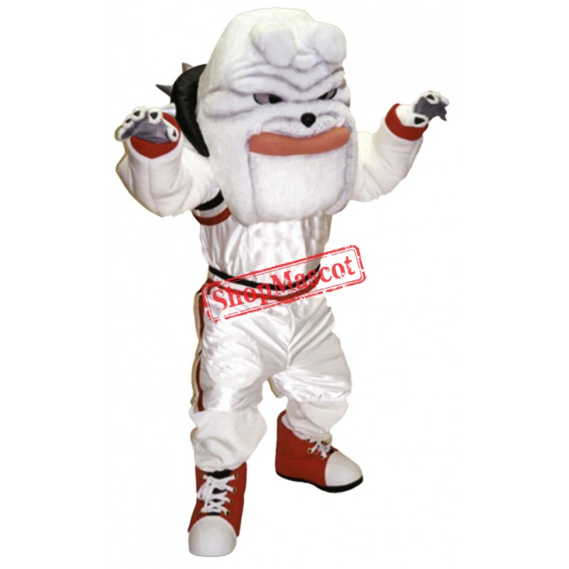 Basketball Bulldog Mascot Costume