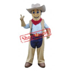 Top Quality Cowboy Mascot Costume