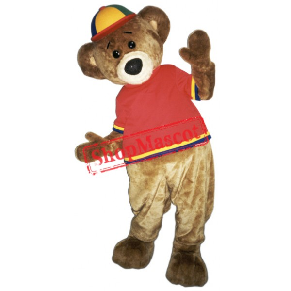 Happy Lightweight Bear Mascot Costume
