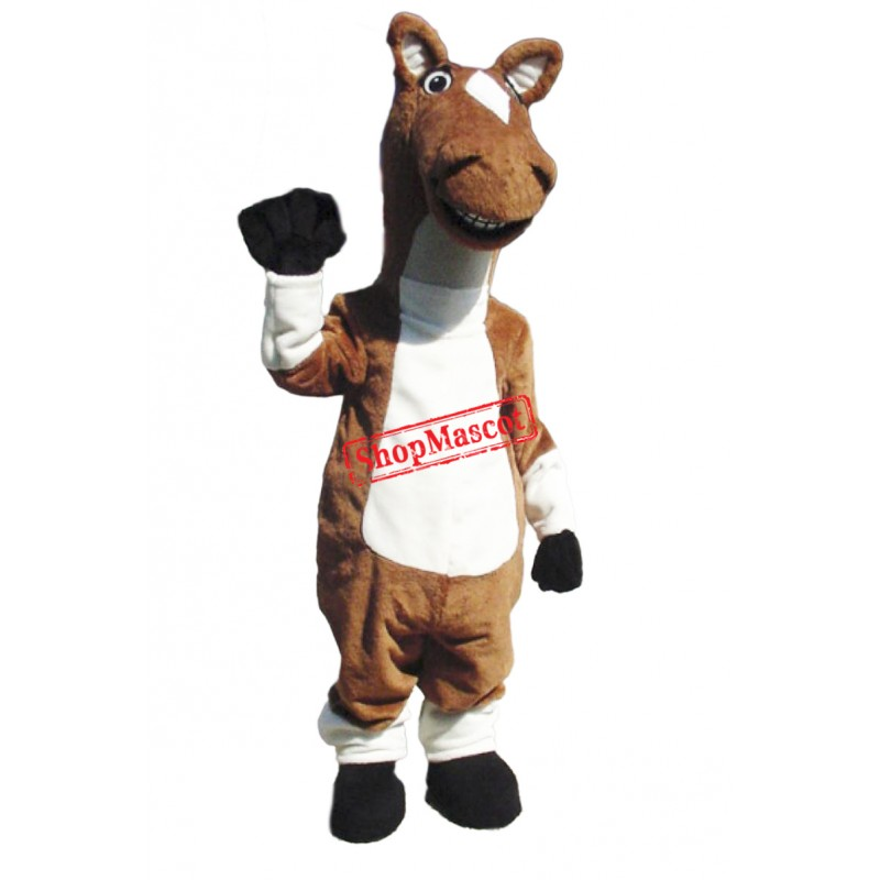 Cute Lightweight Horse Mascot Costume