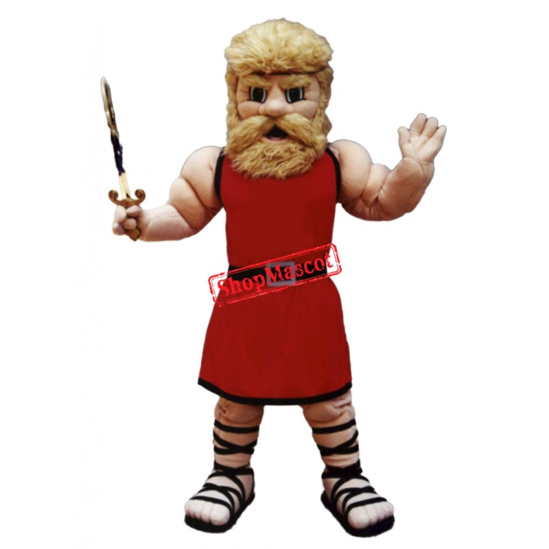 Power Muscle Man Mascot Costume