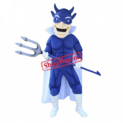 Top Quality Blue Devil Mascot Costume