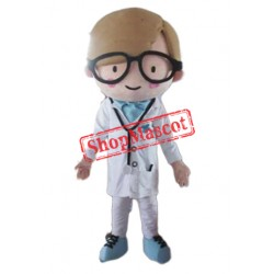 Man Doctor Mascot Costume
