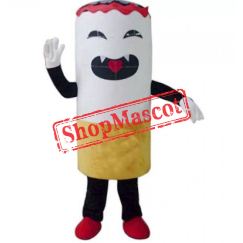 No Smoking Cigarette Mascot Costume