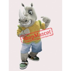 High Quality Rhinoceros Mascot Costume