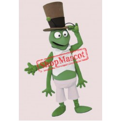 Happy Lightweight Grasshopper Mascot Costume