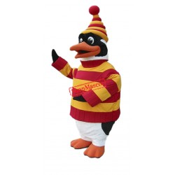 Christmas Penguin Mascot Costume Free Shipping