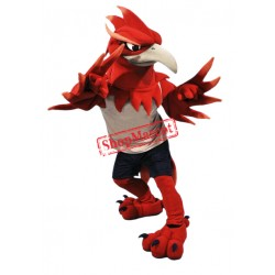 Fierce Phoenix Mascot Costume