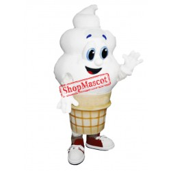 Happy Lightweight Ice Cream Mascot Costume