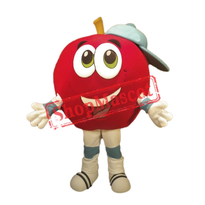 Happy Lightweight Apple Mascot Costume