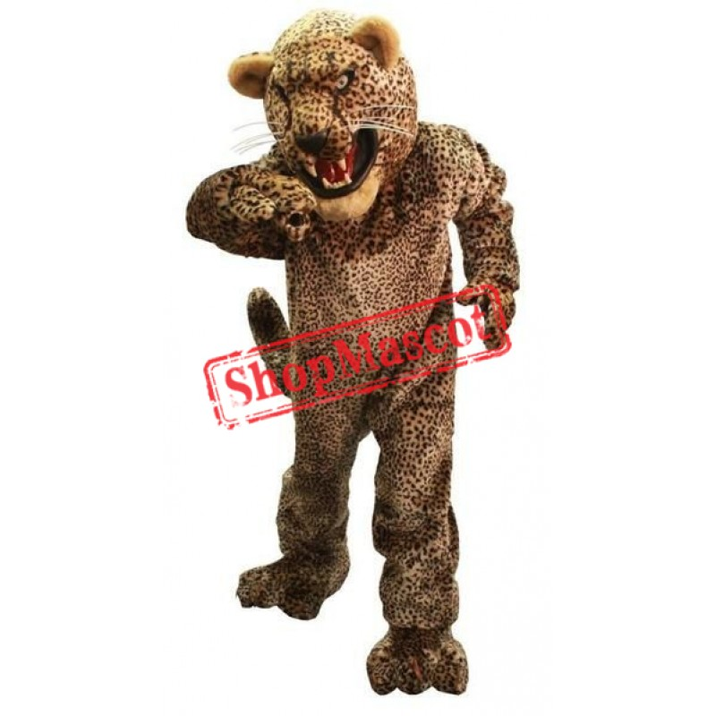 Fierce Lightweight Leopard Mascot Costume