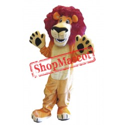 Friendly Lightweight Animal Lion Mascot Costume