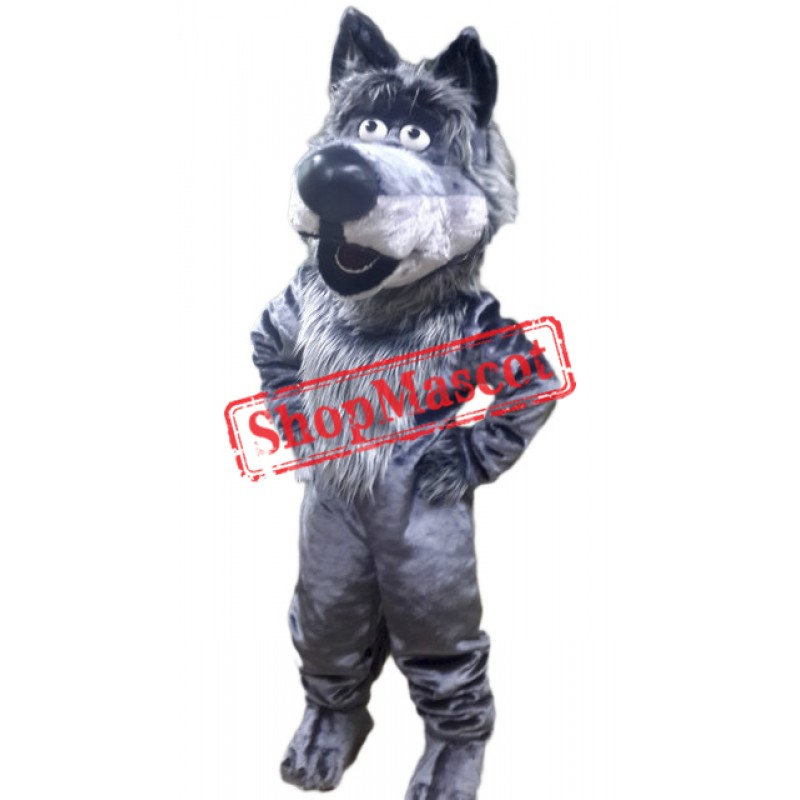 Friendly Animal Wolf Mascot Costume
