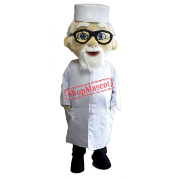 Old Doctor Mascot Costume
