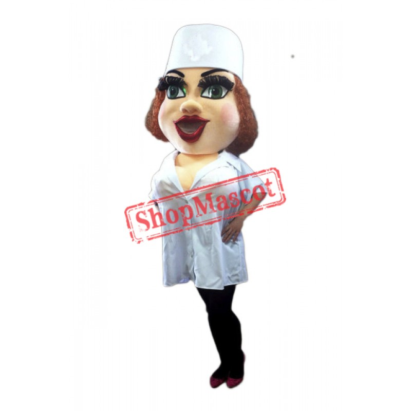 Top Quality Nurse Mascot Costume