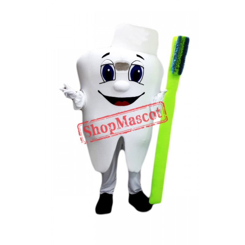 Healthy Tooth Mascot Costume