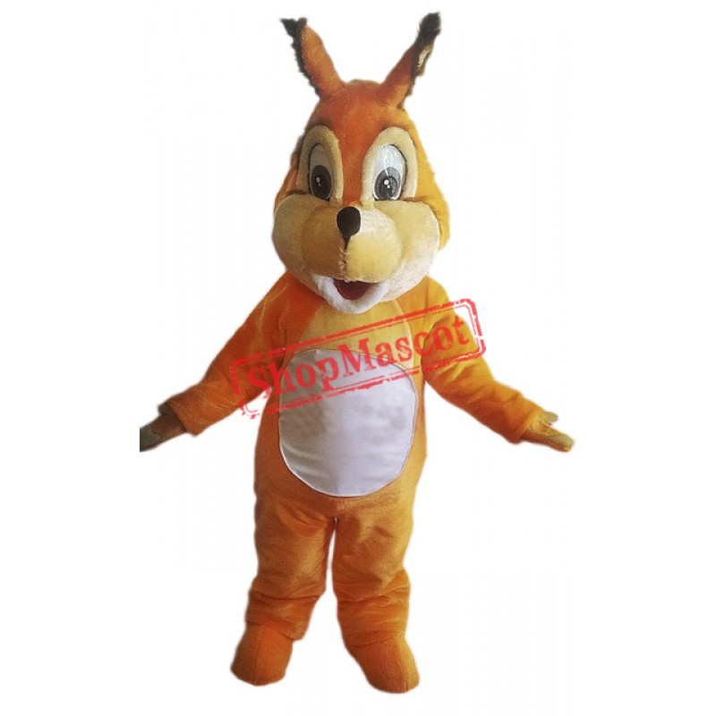 Friendly Animal Squirrel Mascot Costume