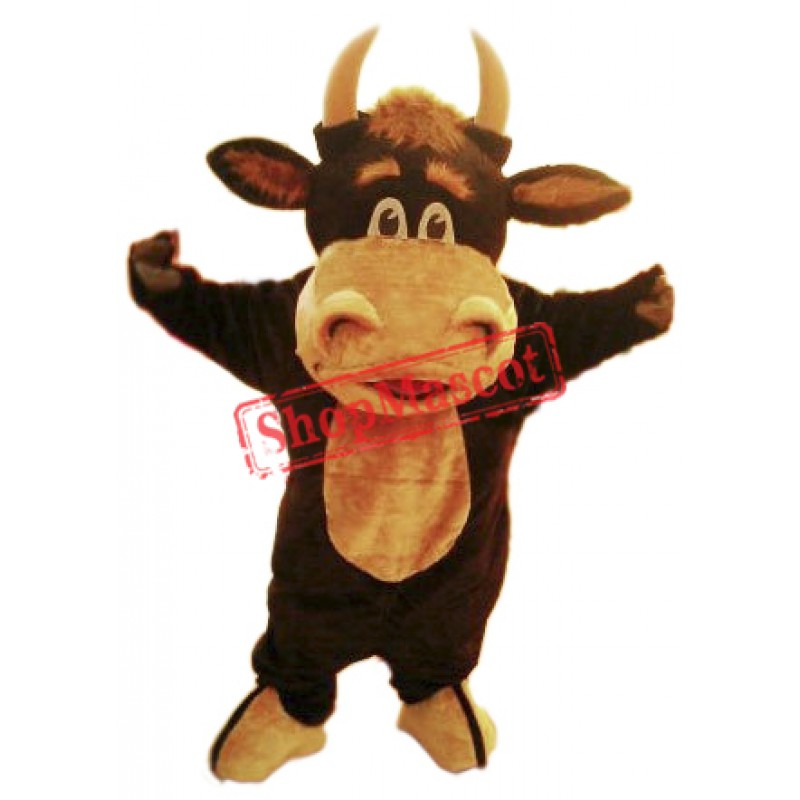 Happy Bull Mascot Costume