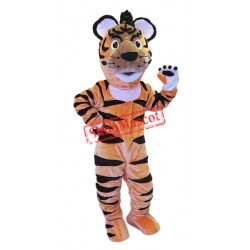 Happy Lightweight Animal Tiger Mascot Costume