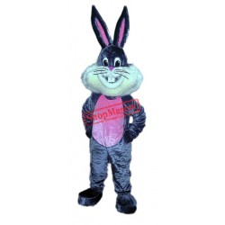 Happy Lightweight Bunny Rabbit Mascot Costume