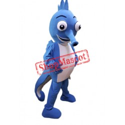 Happy Sea Horse Mascot Costume