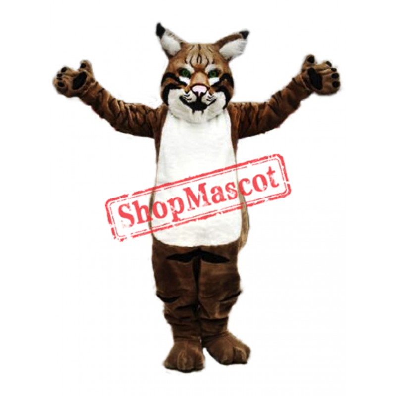 Top Quality Bobcat Mascot Costume